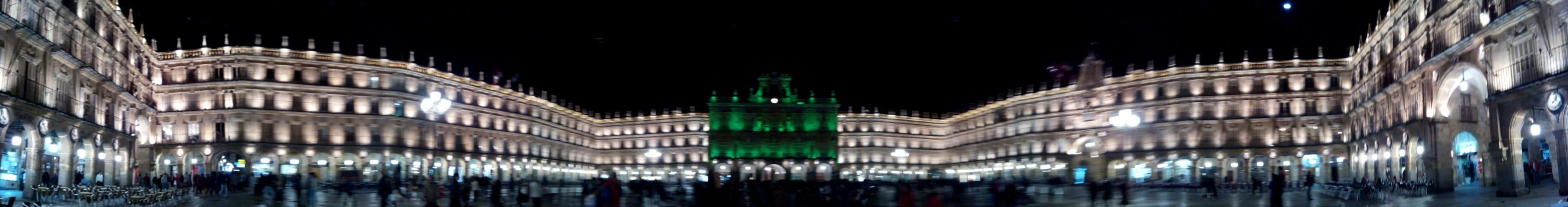 Skyline en Plaza Mayor