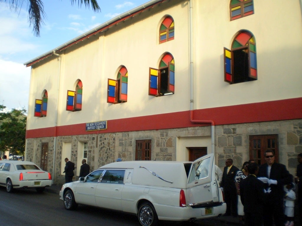 Fachada en New Testament Baptist Church
