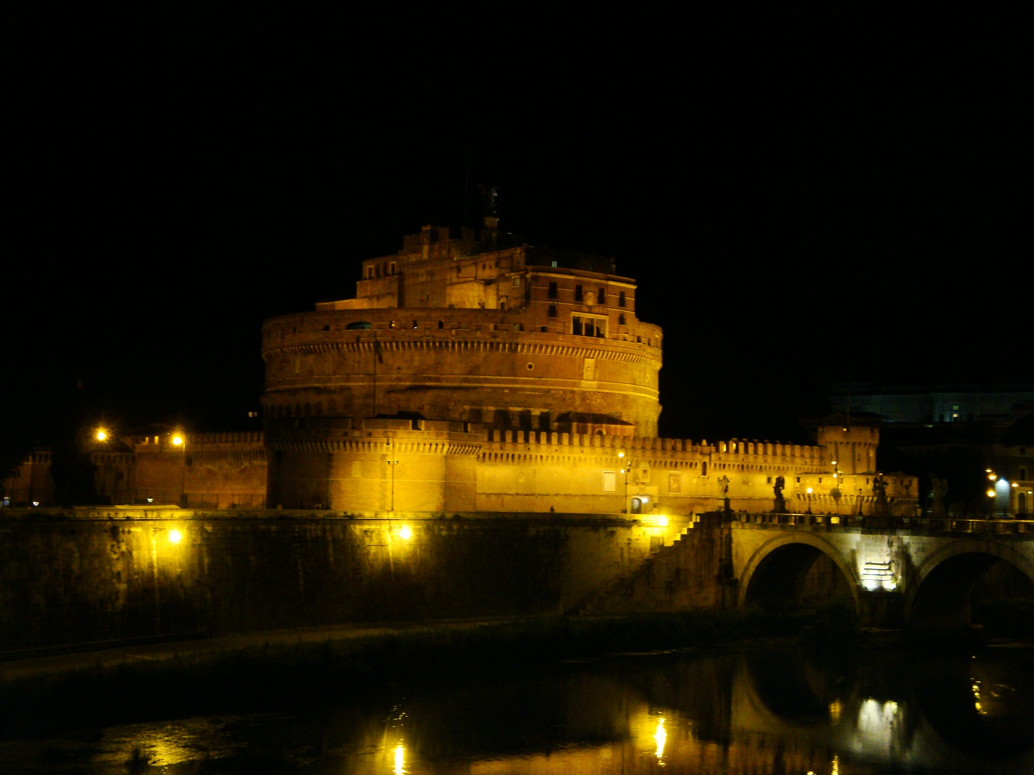 Mar en Castillo de Sant'Angelo