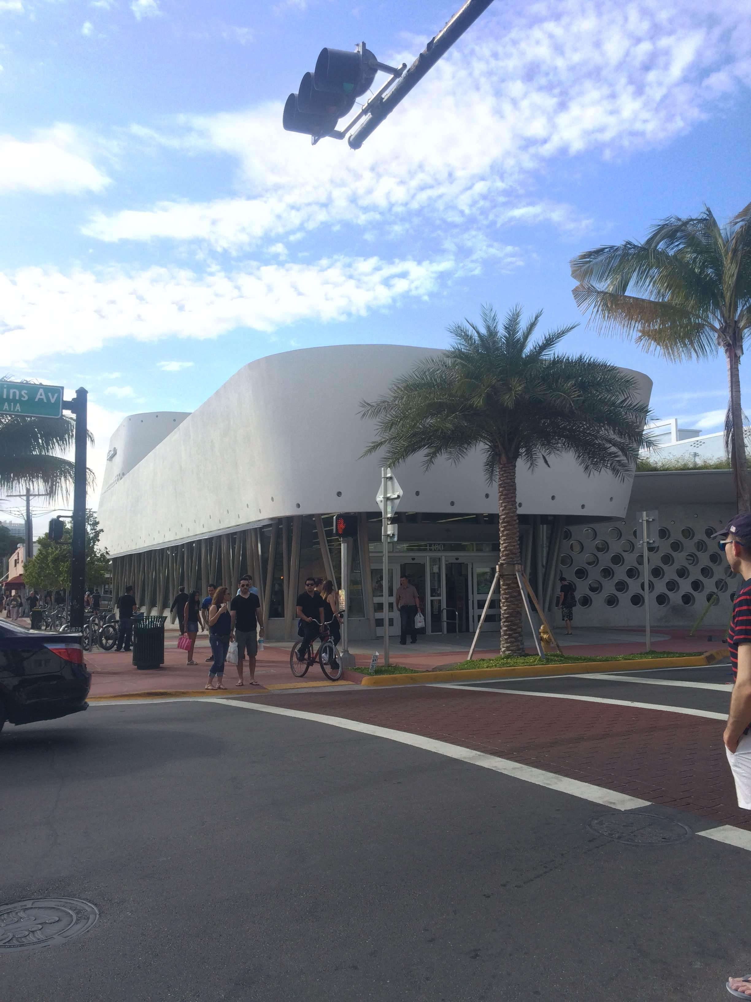 Edificio deportivo en South Beach