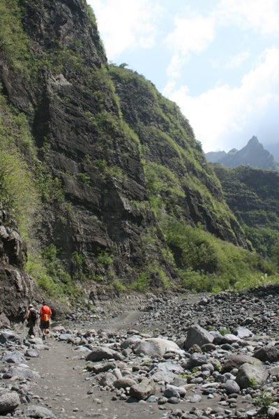 River of the pebbles, La Possession, Reunion Island
