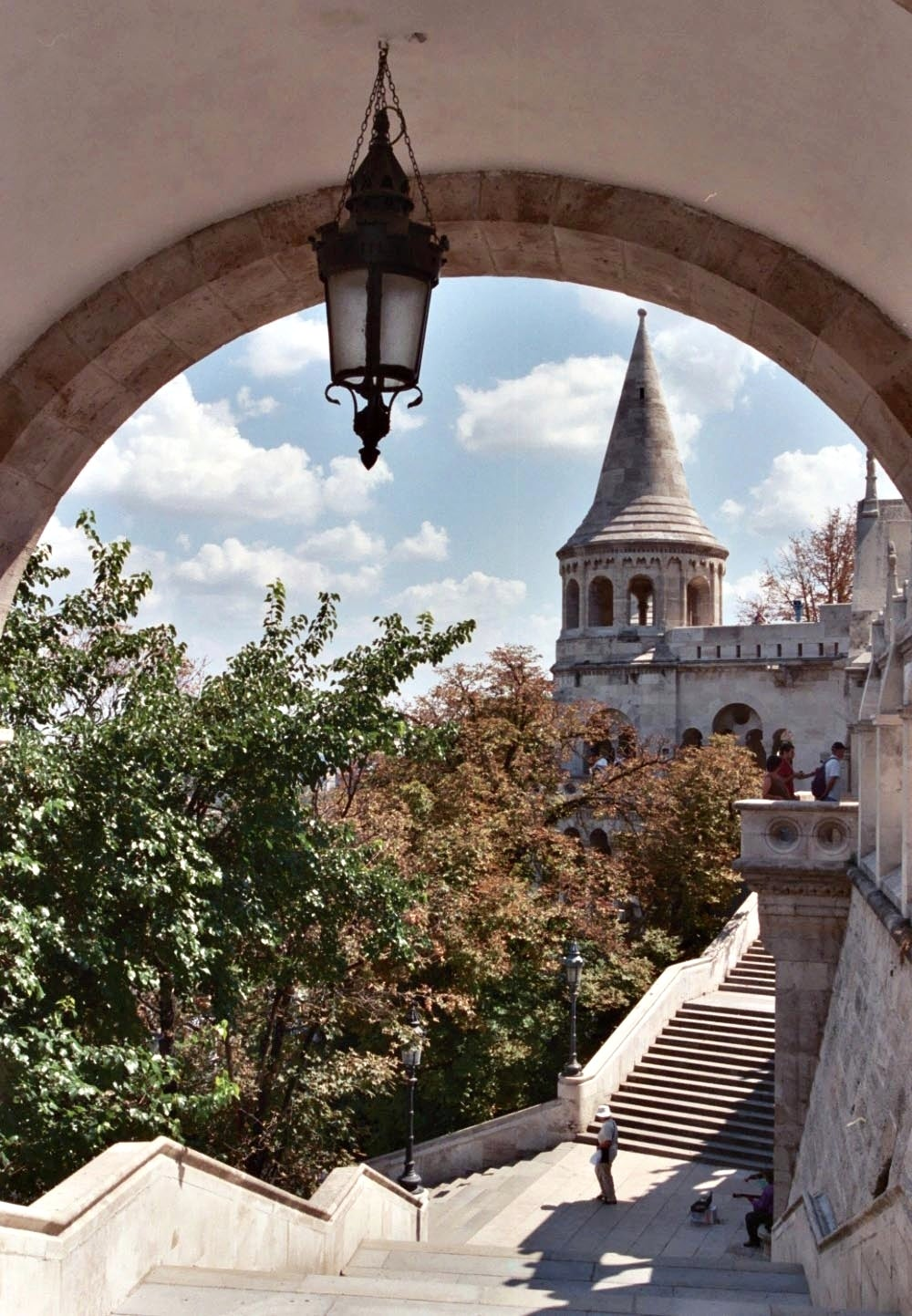 Arch in Fisherman's Bastion