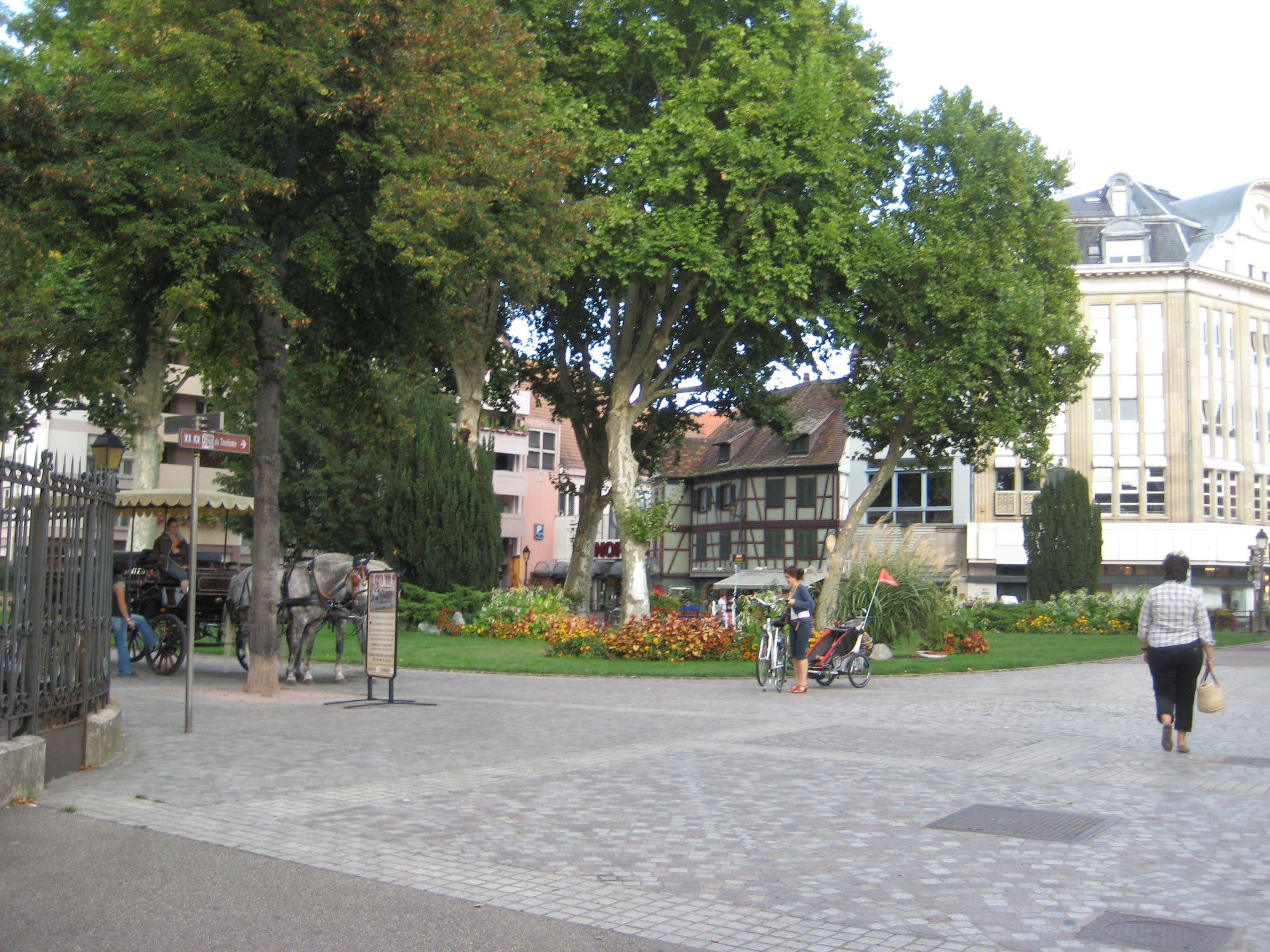 Plaza en Museo de Unterlinden