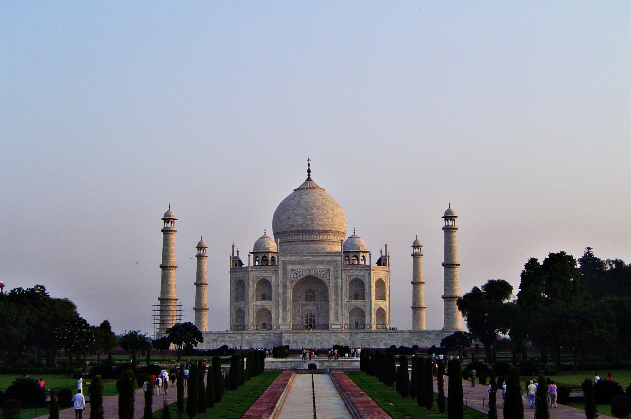 Edificio en Taj Mahal