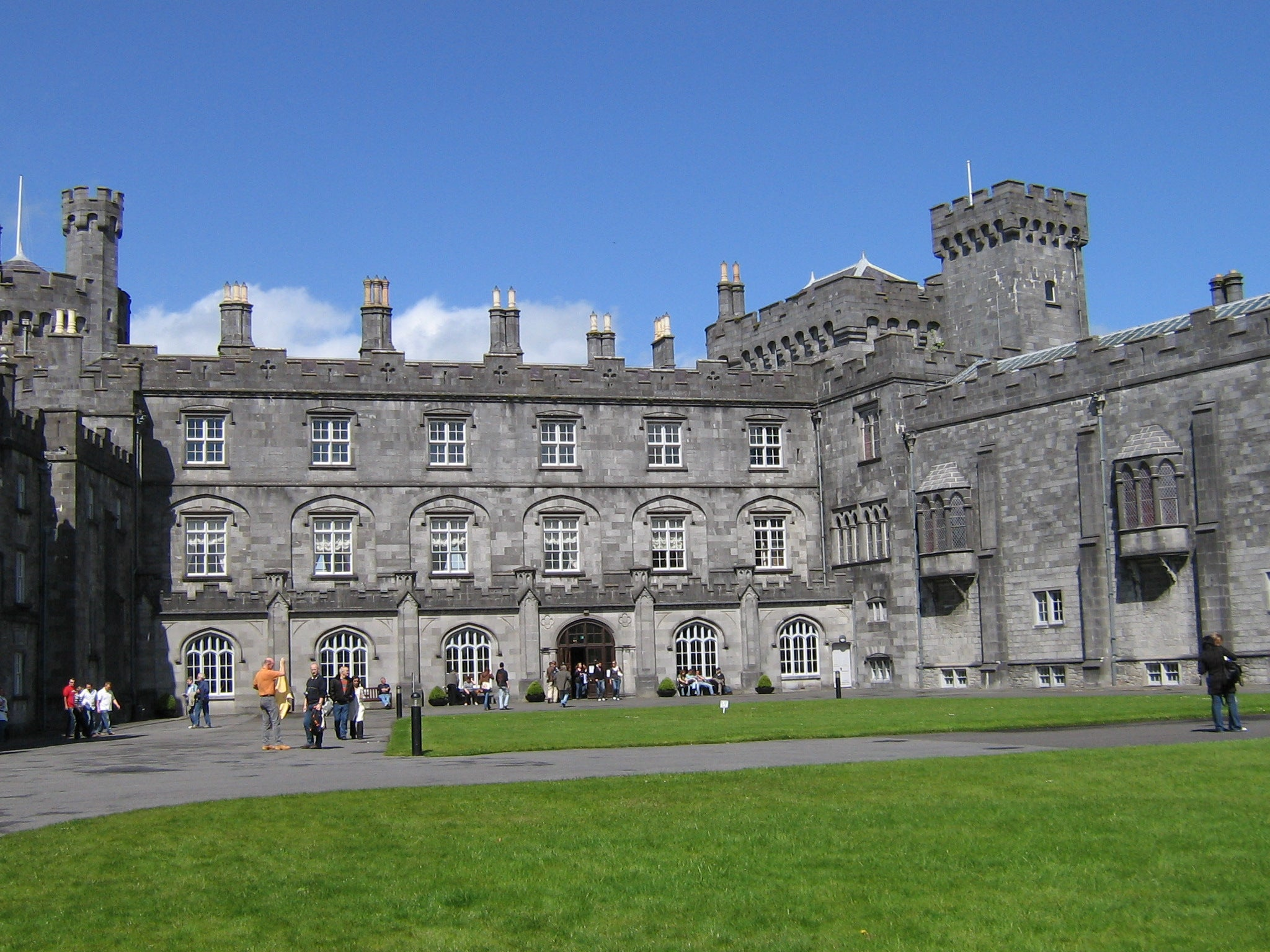Patio en Castillo de Kilkenny