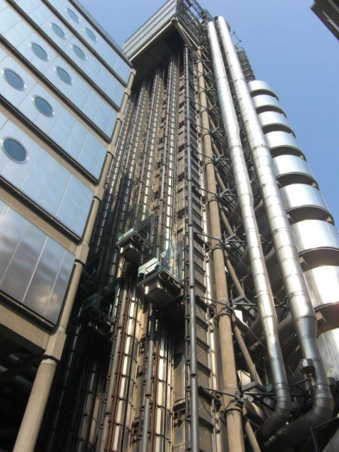 Centro de la ciudad en Lloyd's London Building
