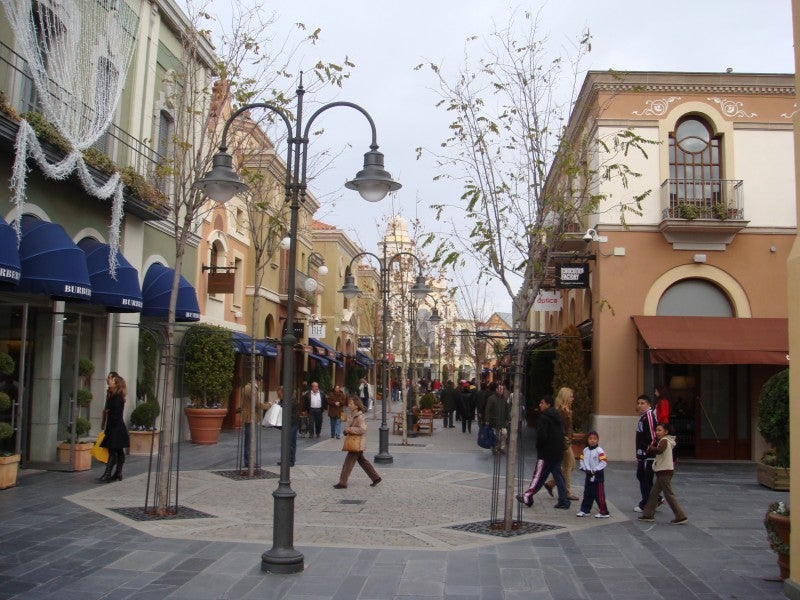 Compras en Las Rozas Village outlet shopping