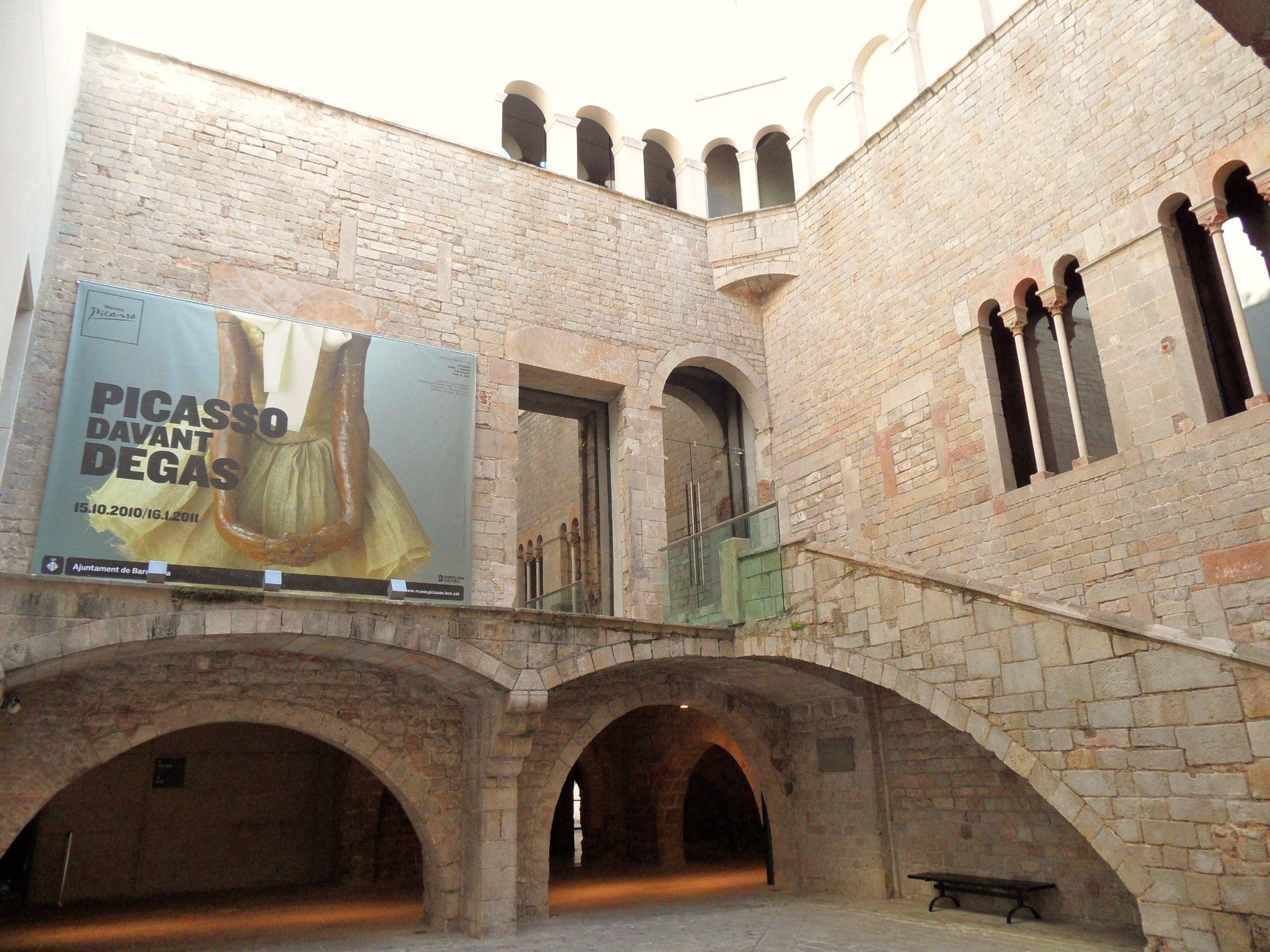 Arquitectura en Museo Picasso