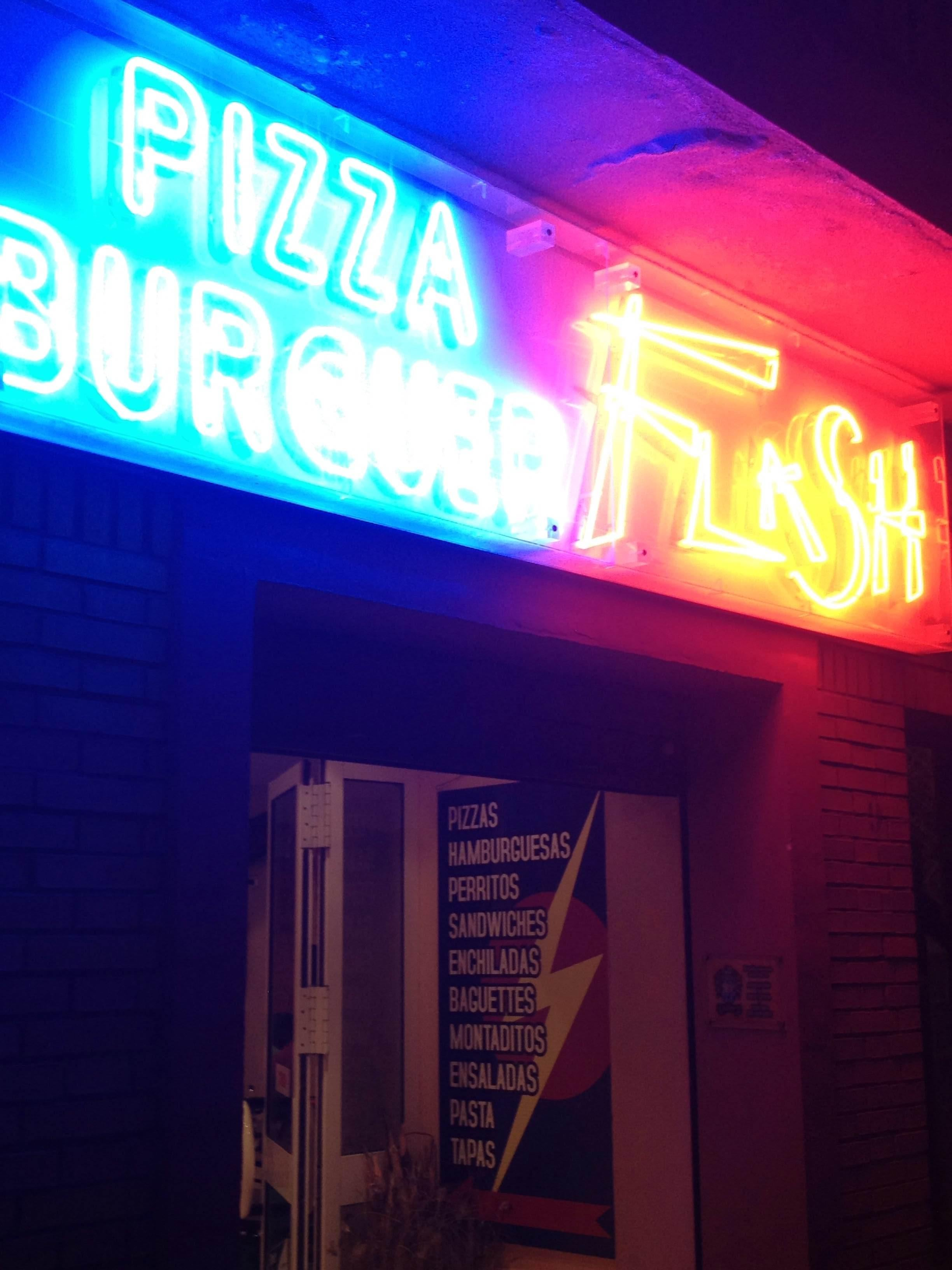 Pizza Burguer Flash