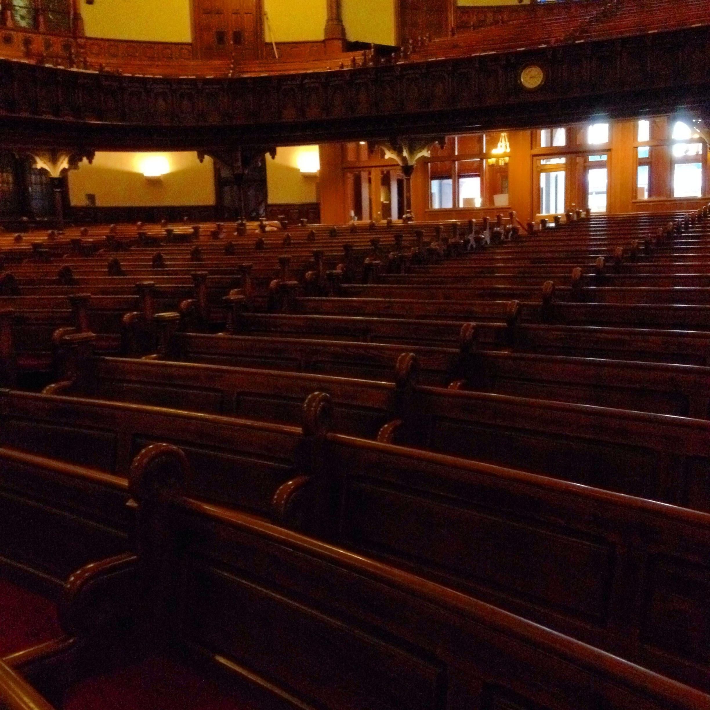 Auditorio en Fifth Avenue Presbiterian Church