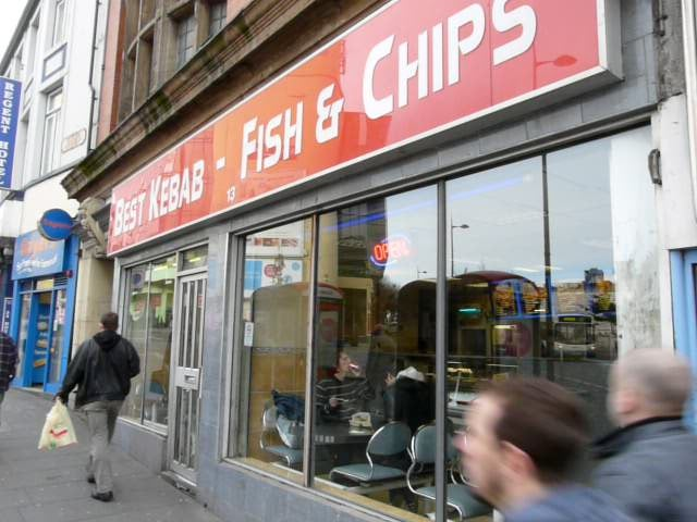 Pho en Fish and chips