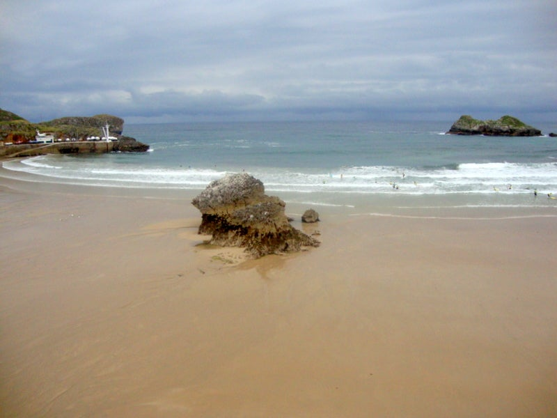 Mar en Playa de Llanes