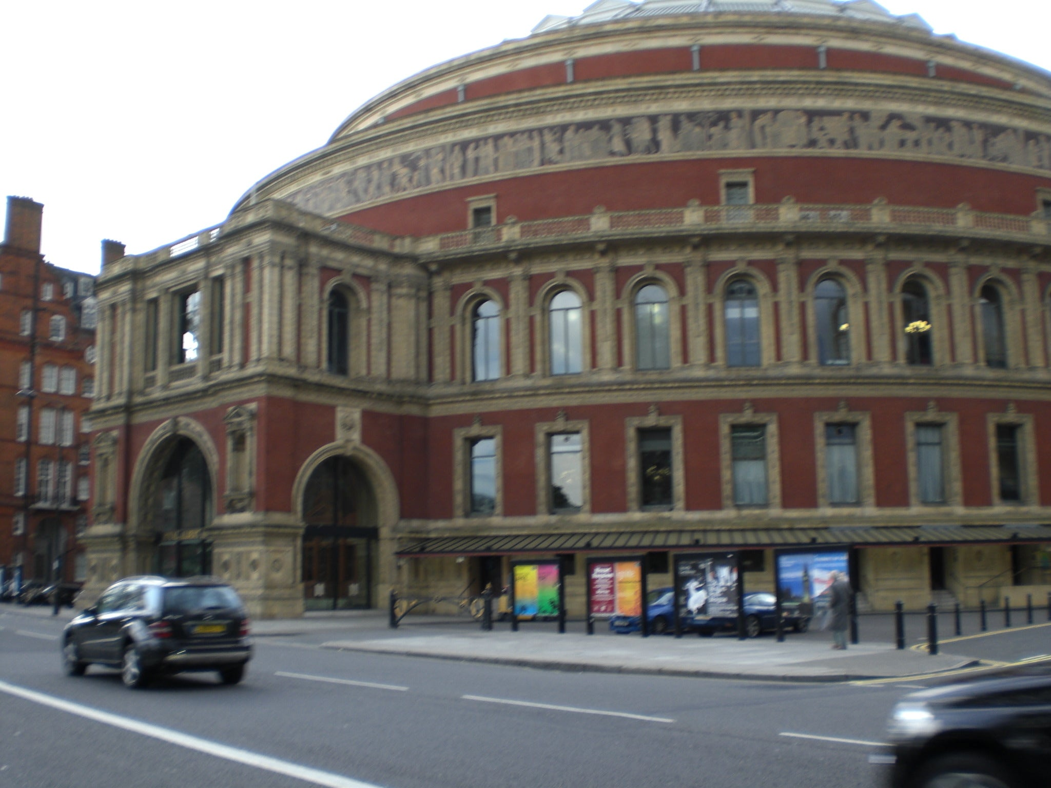 Centro de la ciudad en Royal Albert Hall