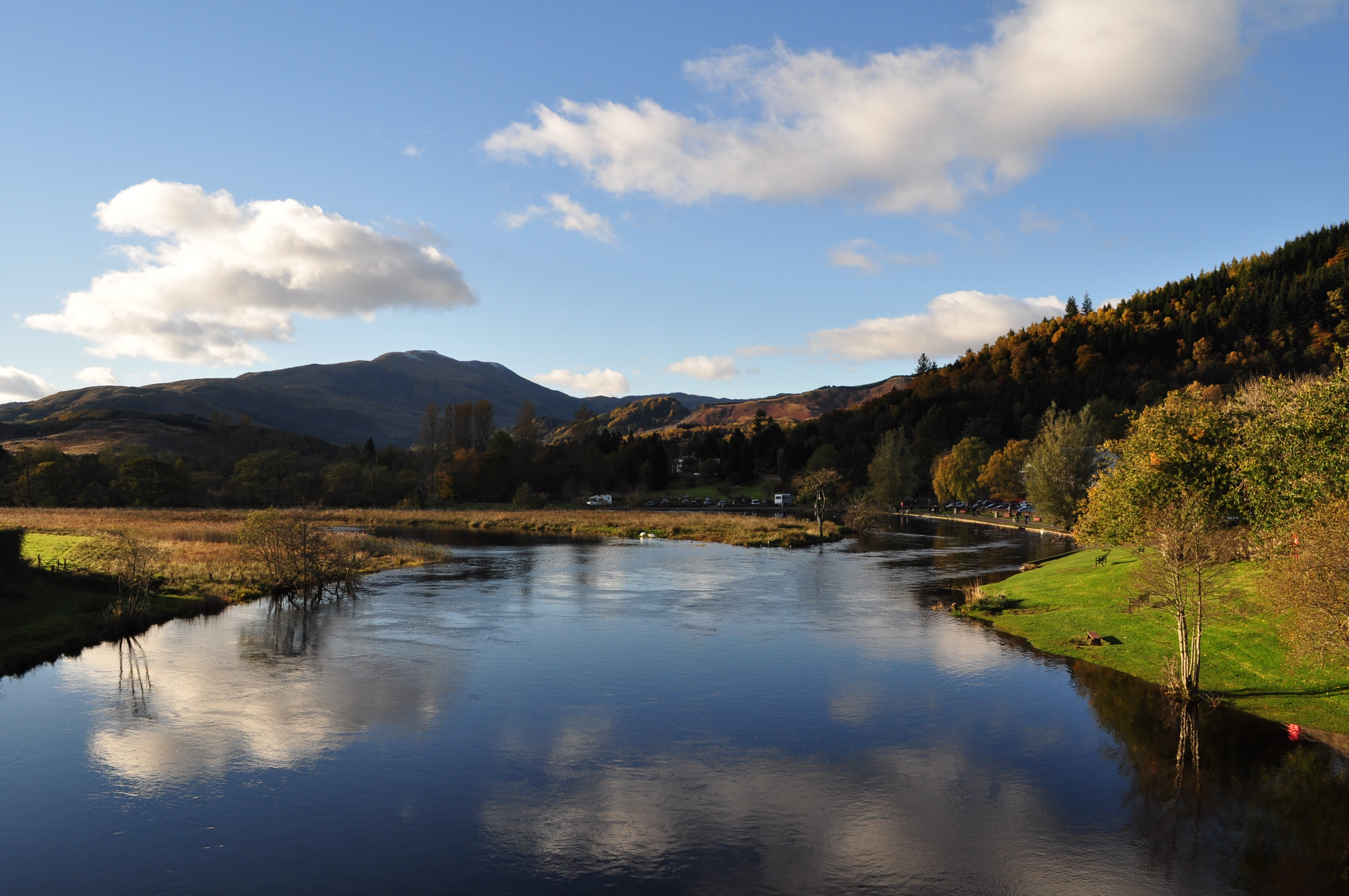Walking the Teith River