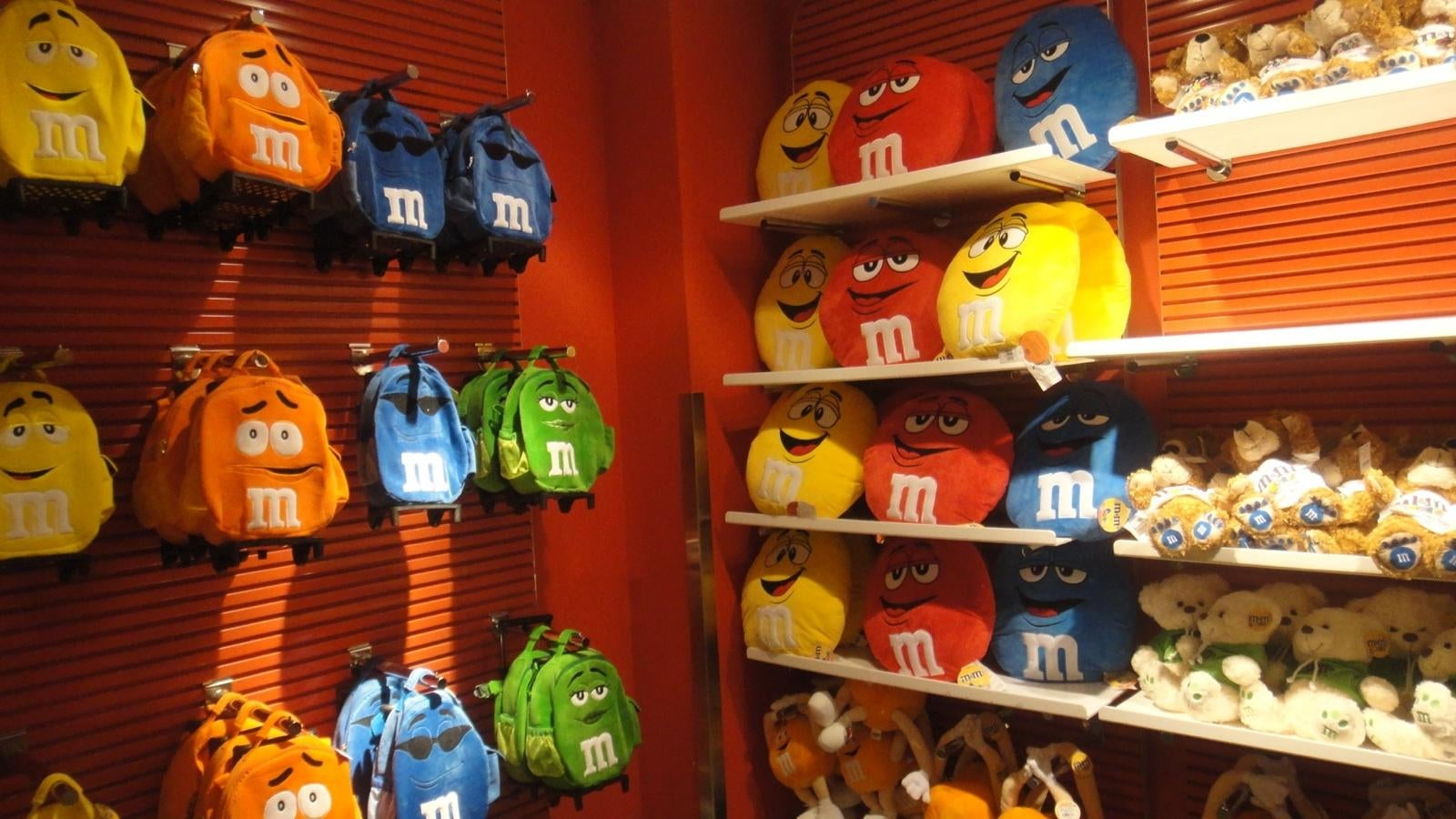 Comida en M&M'S World