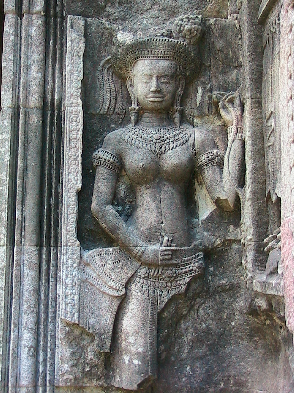 Estatua en Preah Khan