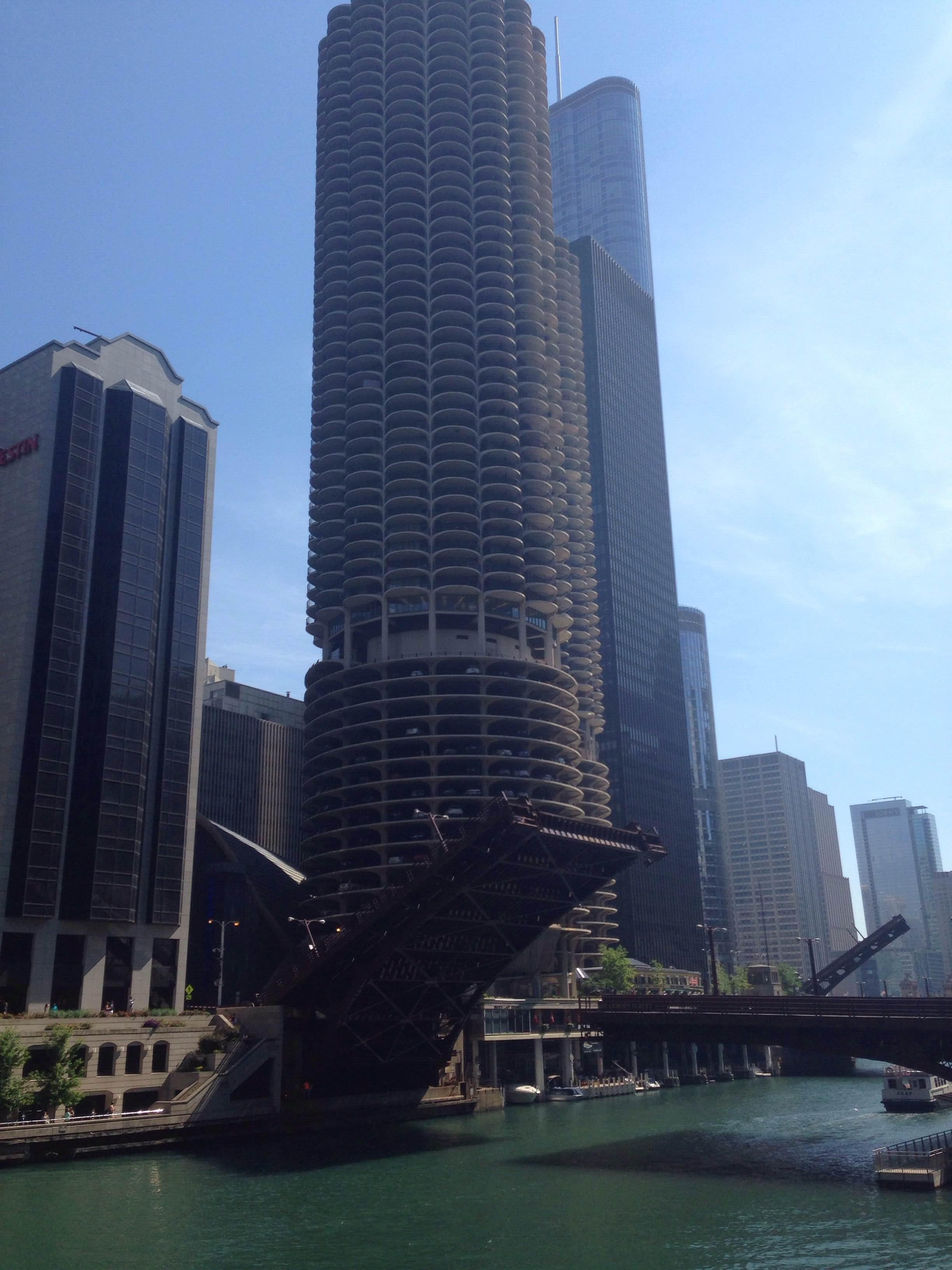 Edificio en 77 West Wacker Drive