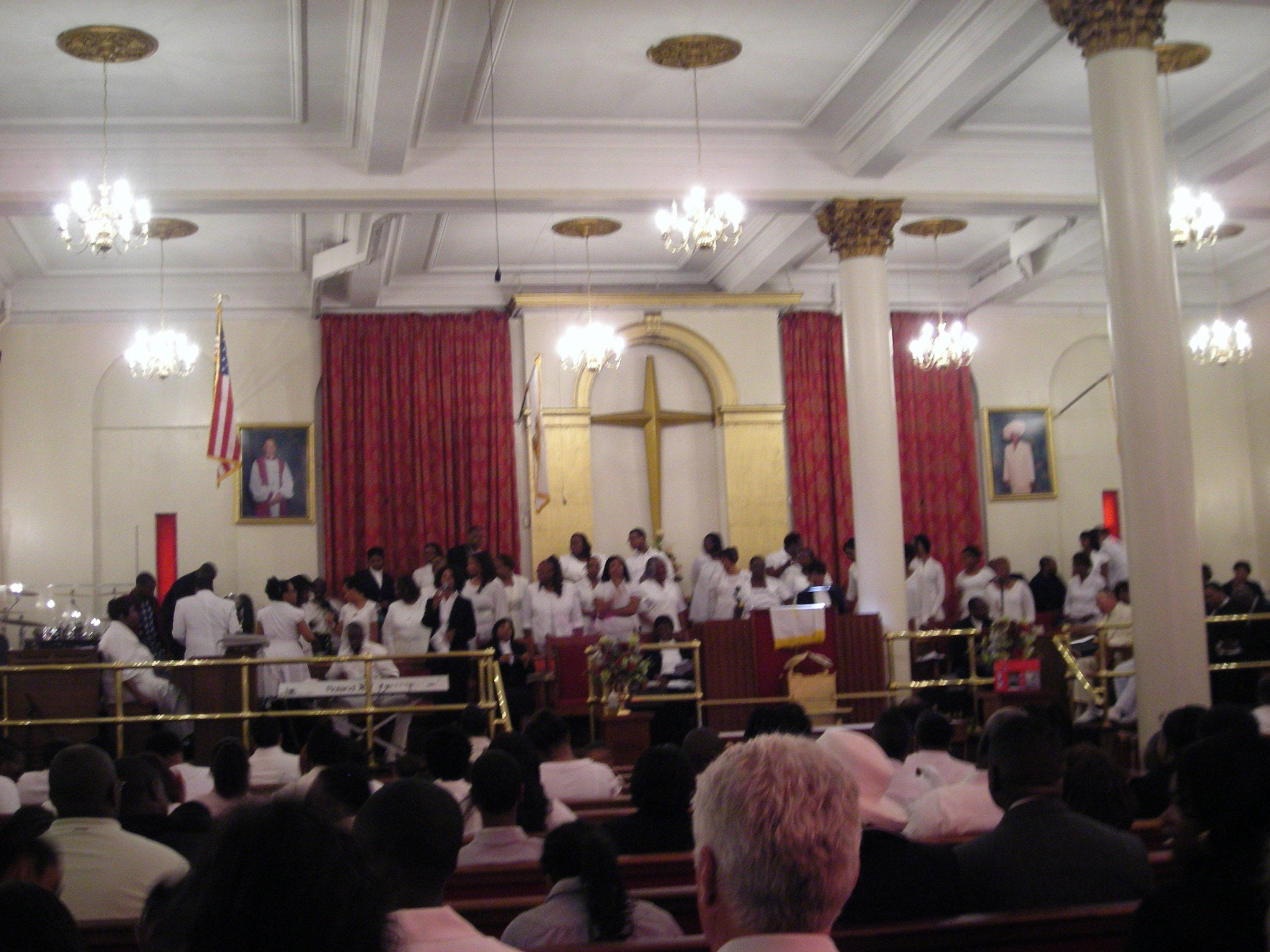 Convención en Antioch Baptist Church