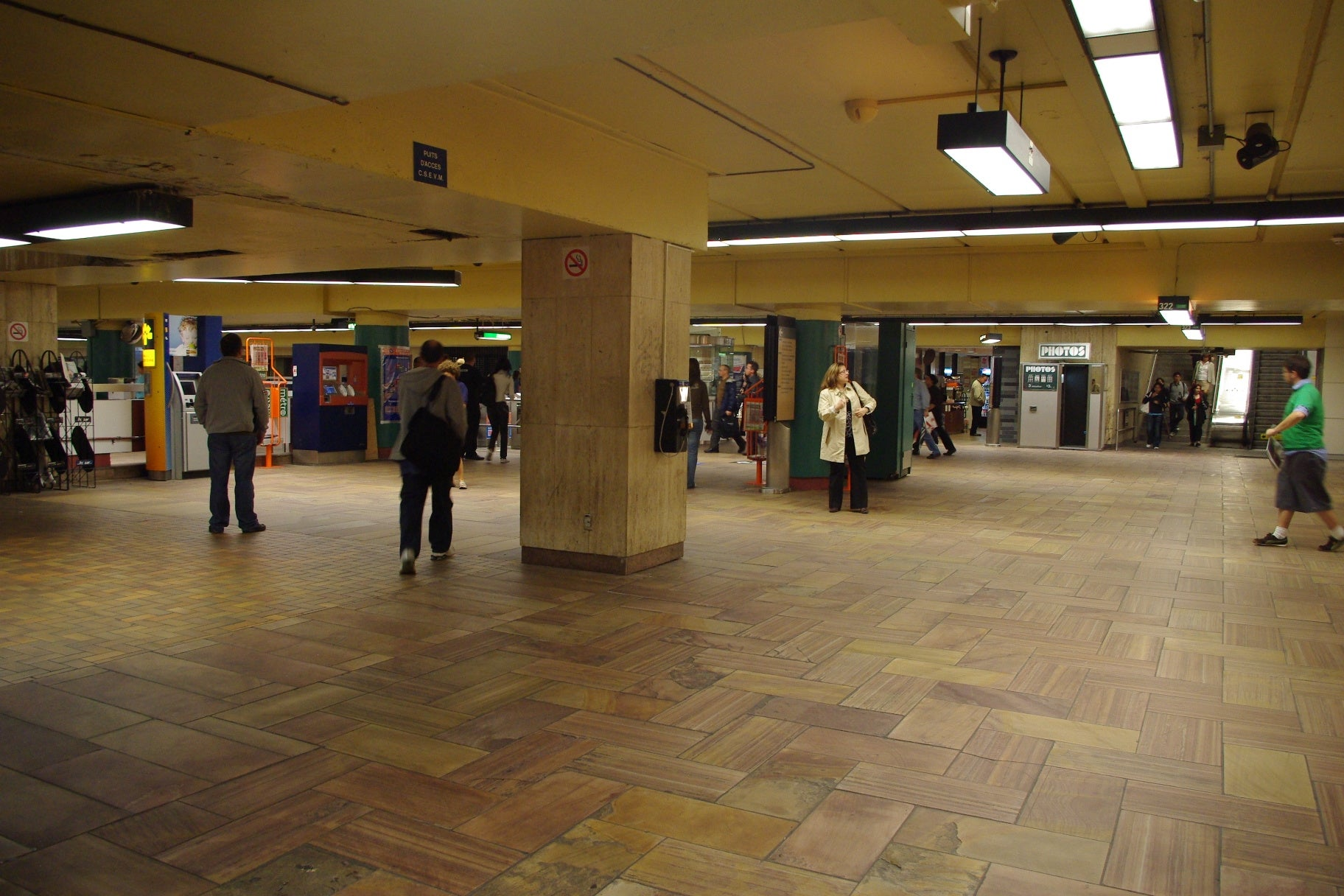 The Montréal Subway