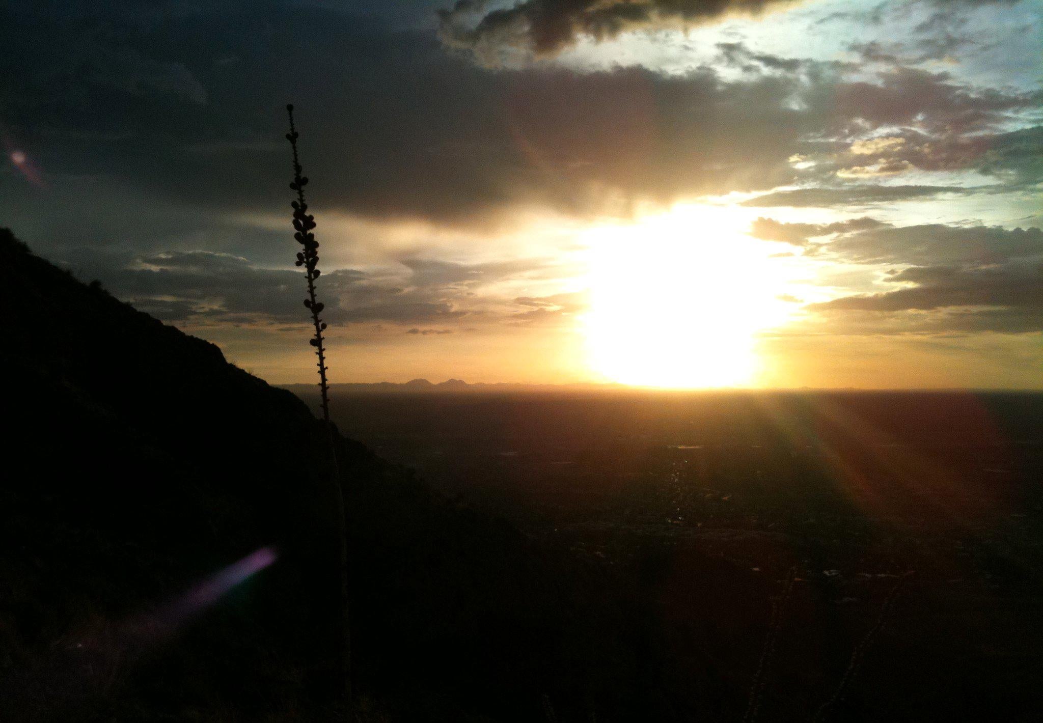 Cielo en Franklin Mountains State Park