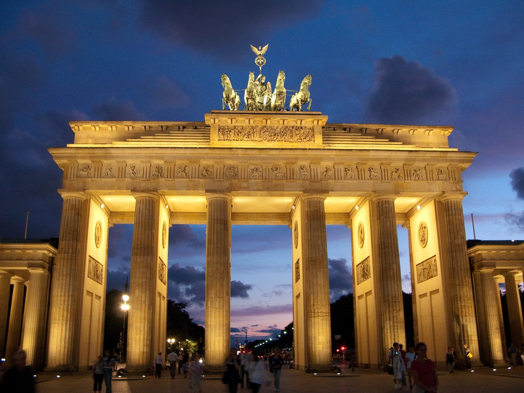 Opera in Brandenburg Gate