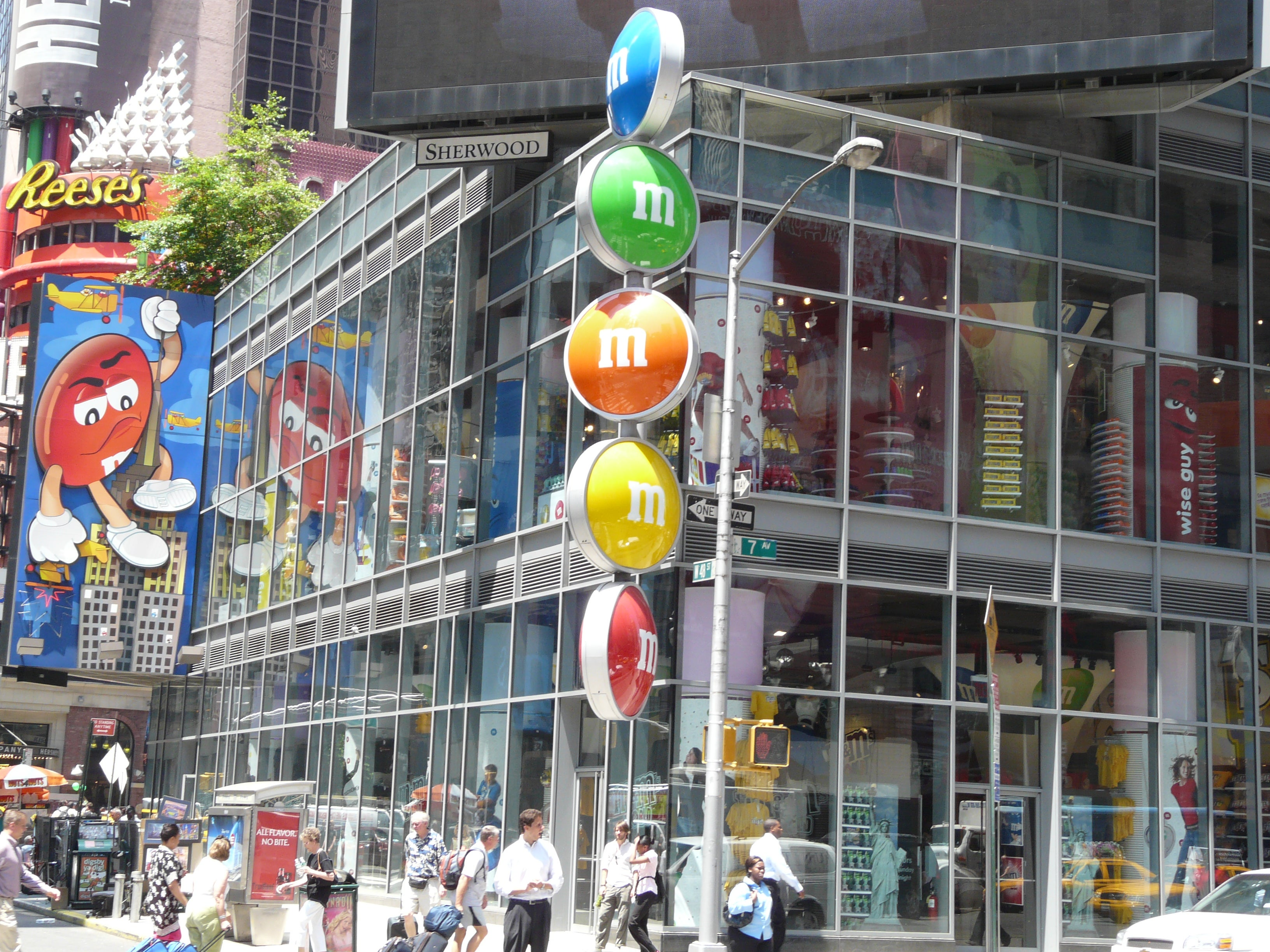 Centro de la ciudad en M&M'S World