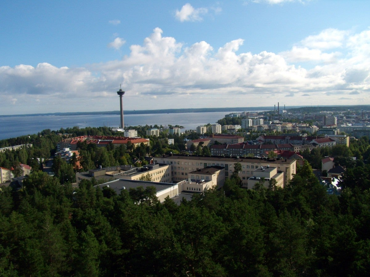 Tammerkoski and the Formal Industrial Area