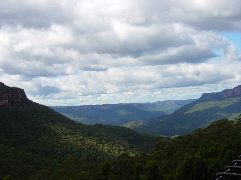 Nube en Parque nacional Blue Mountains
