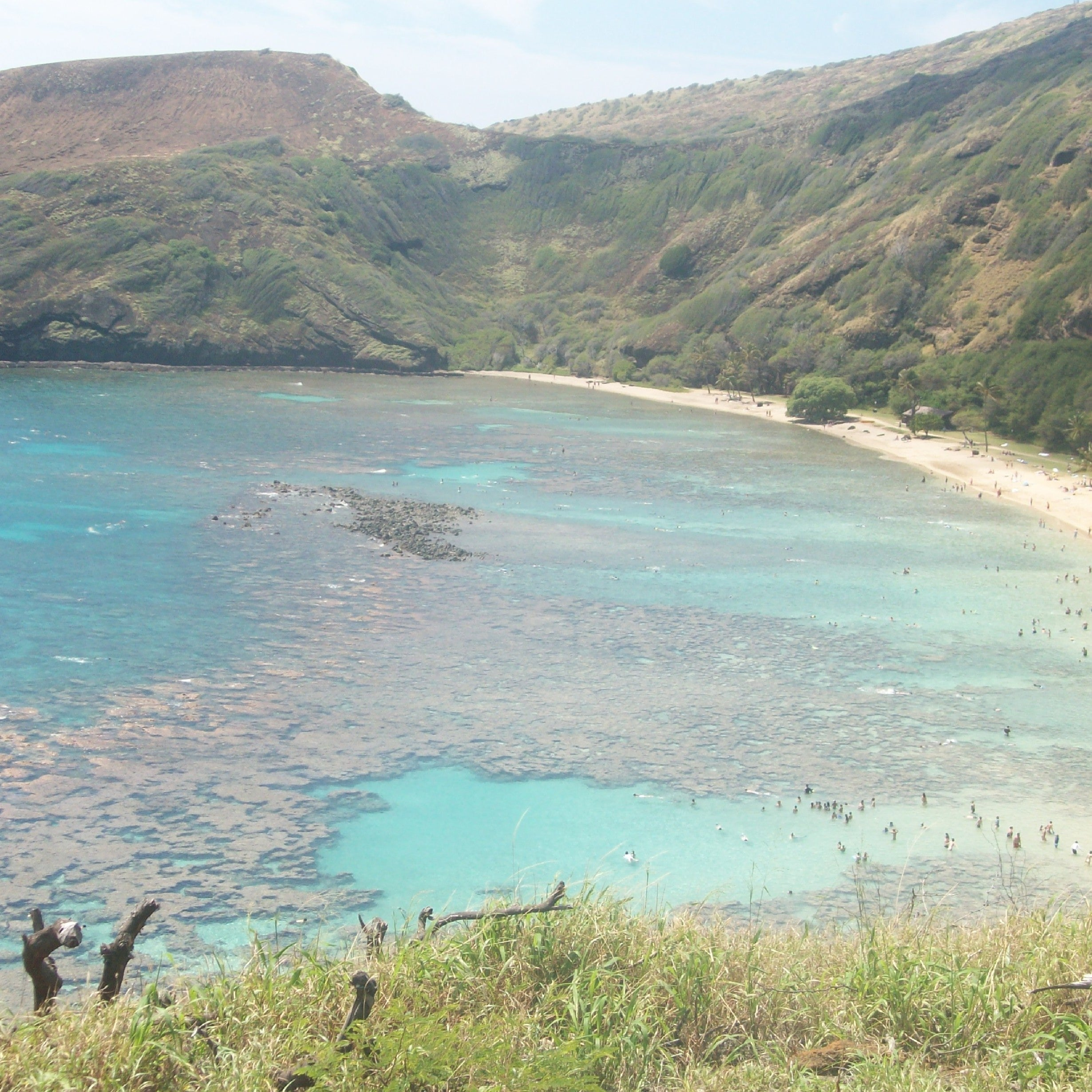 Embalse en Hanauma Bay