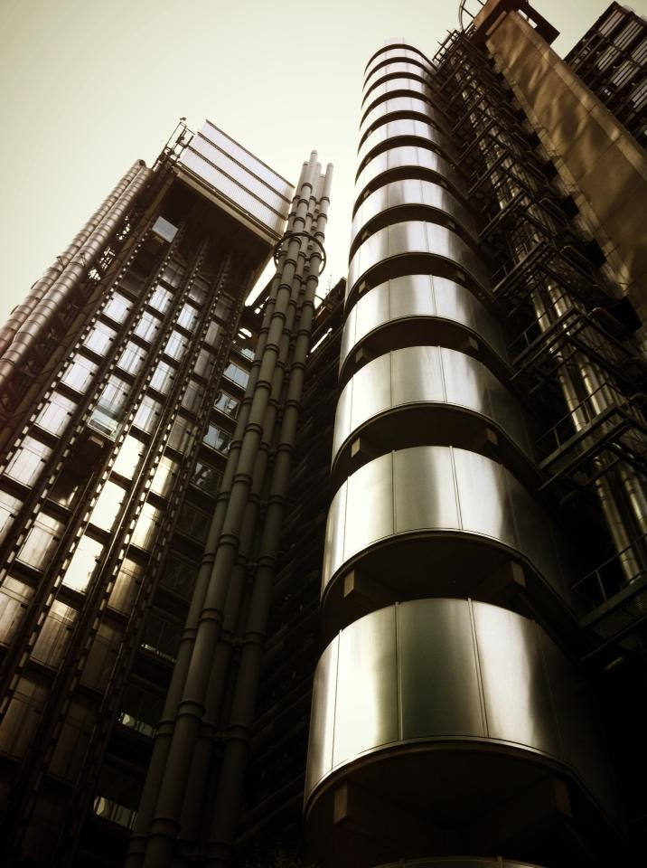 Negro en Lloyd's London Building