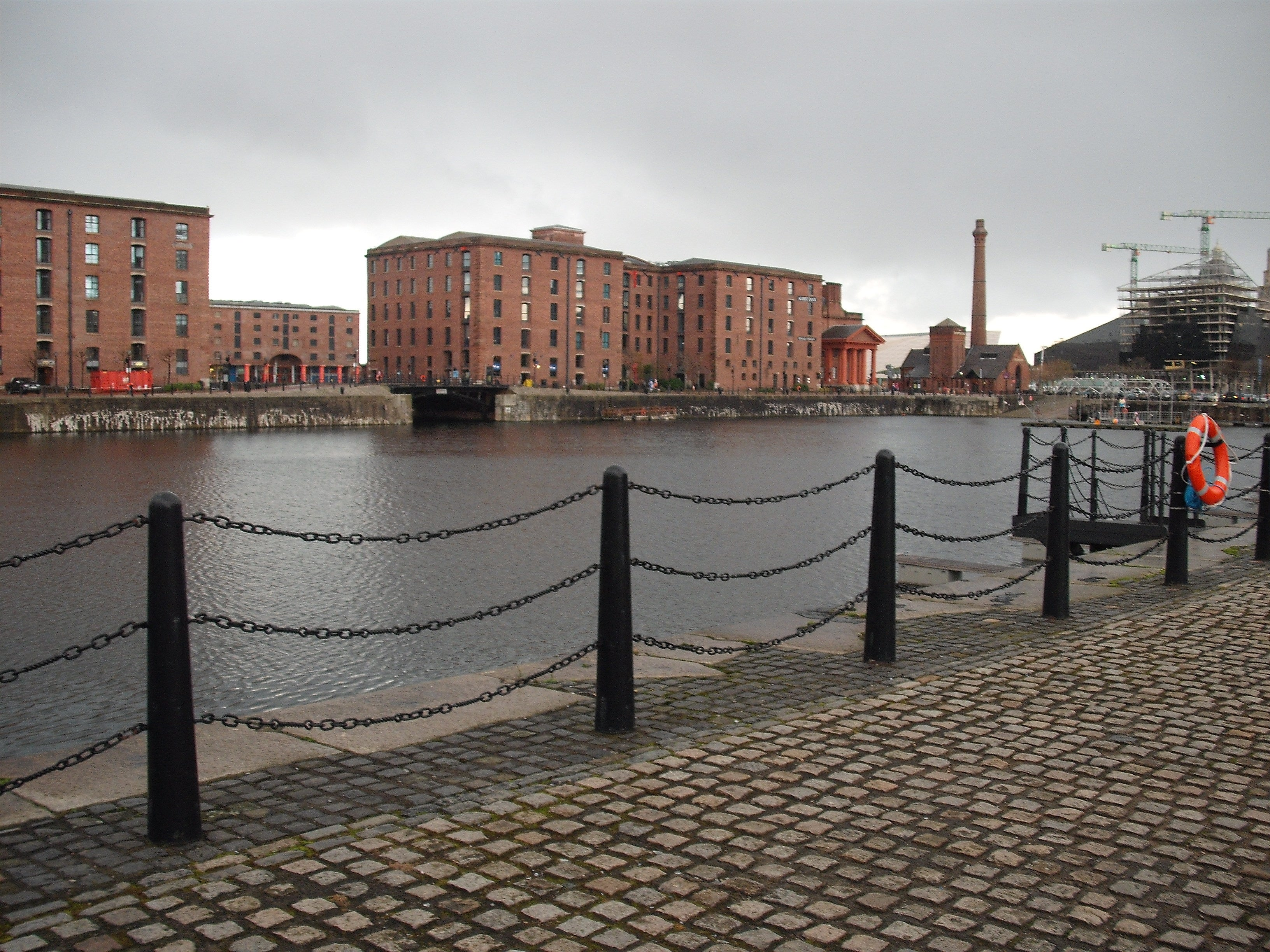 Suelo en Royal Albert Dock