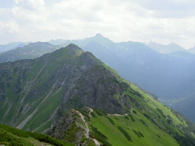 Trekking by the Tatras