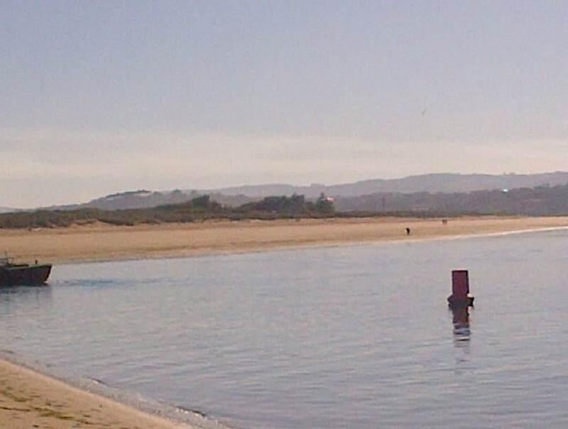 Lago en Playa del Puntal