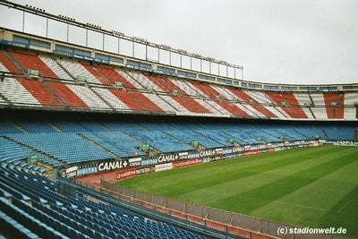 Estadio de fútbol en Estadio Vicente Calderón