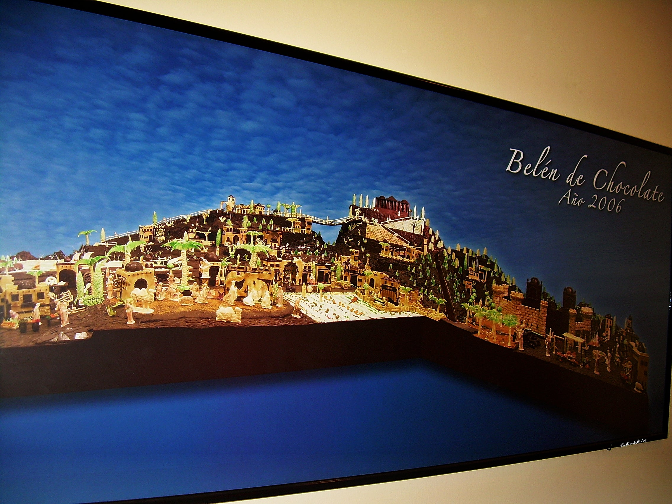 Turismo The largest Spain chocolate Bethlehem