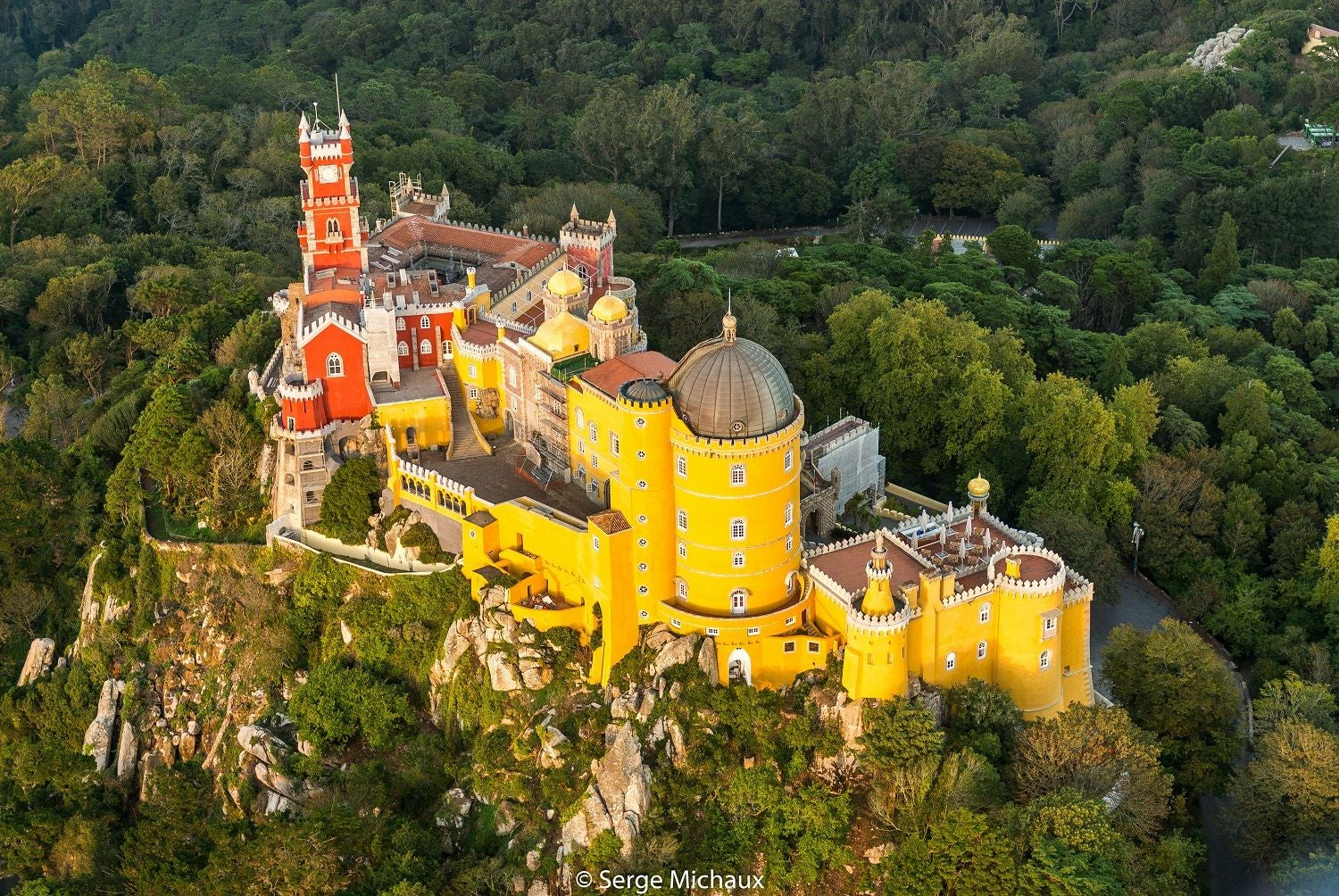 Yellow in Pena National Palace