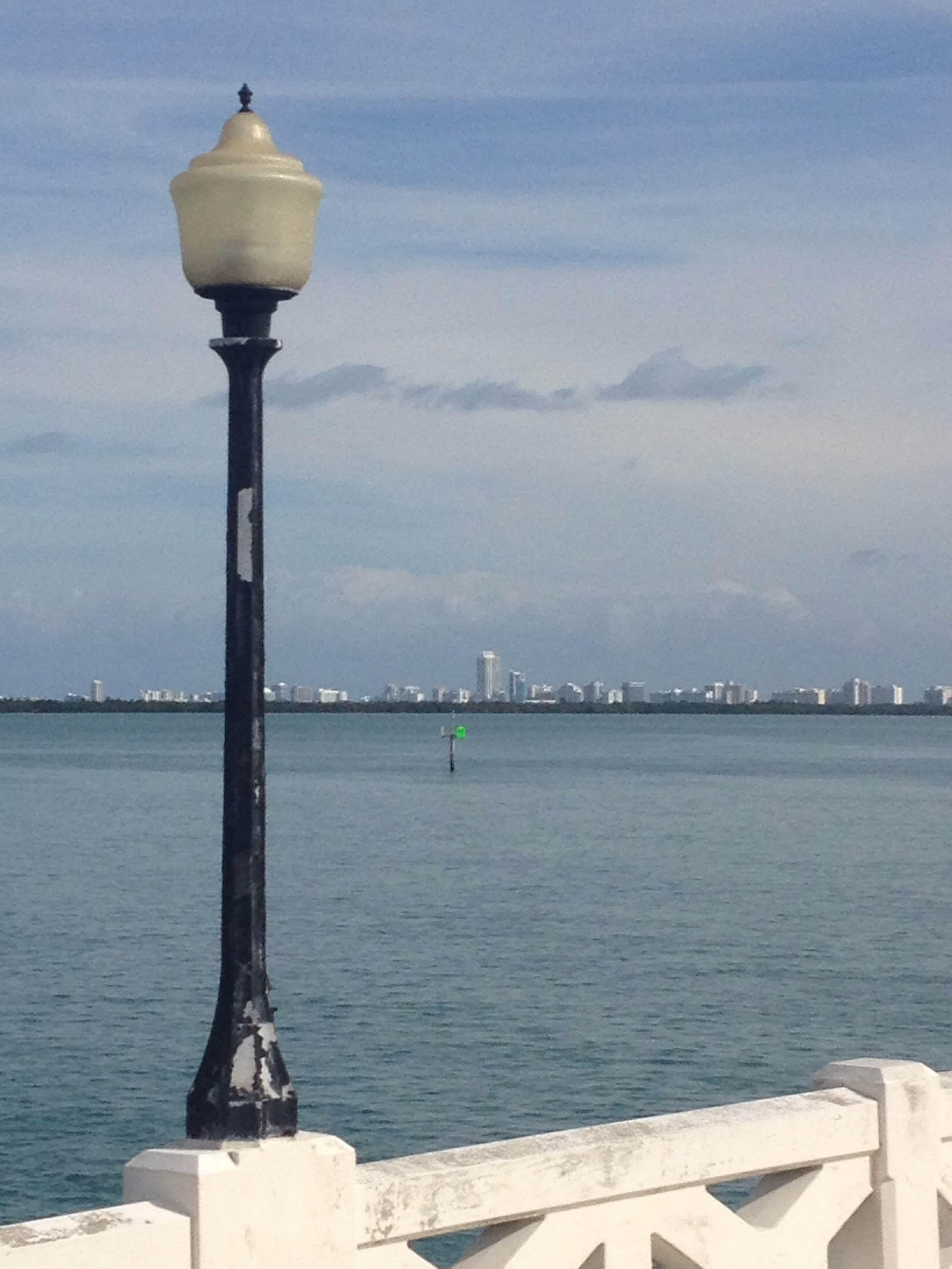 Farola en South Beach