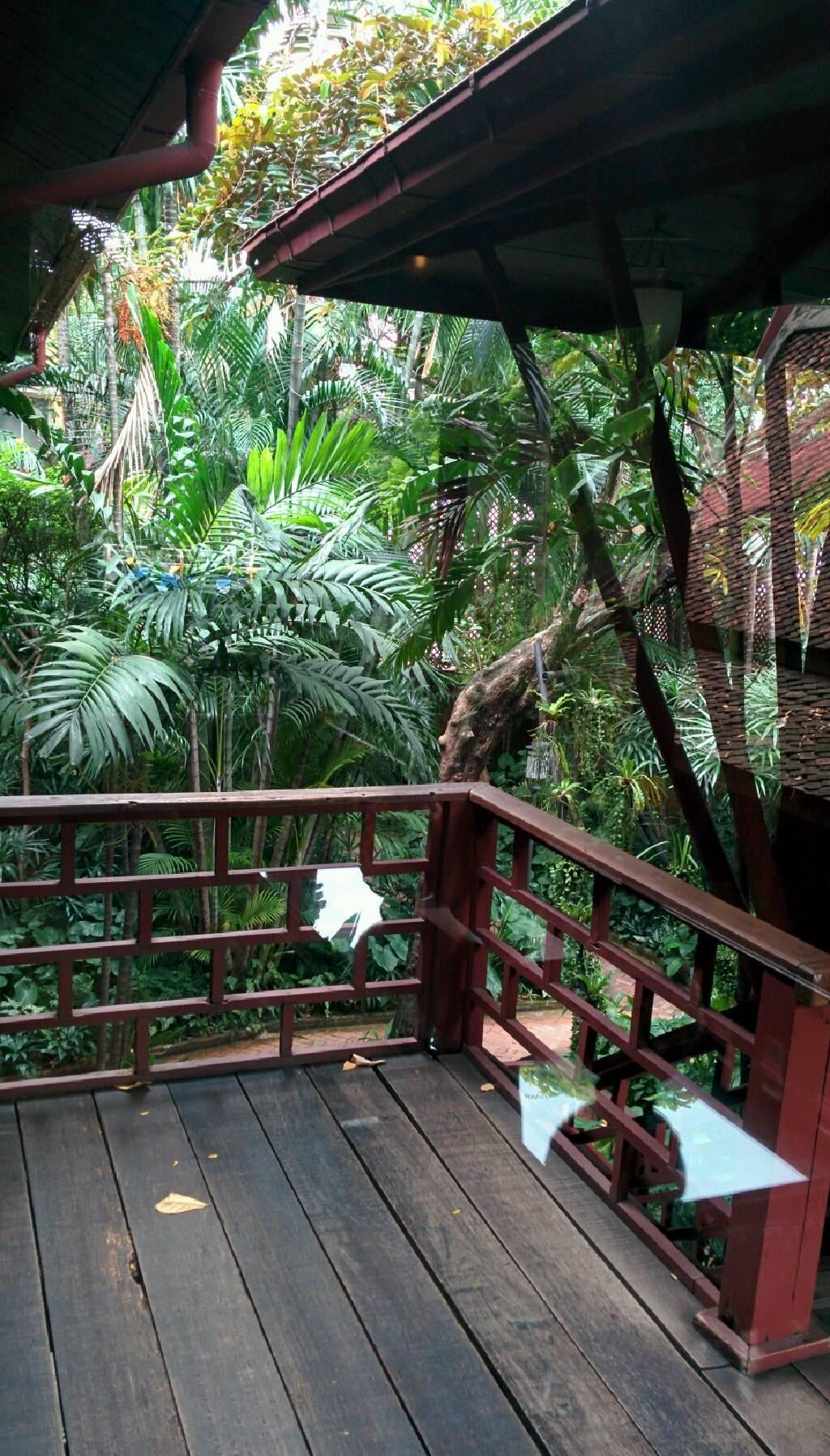 Zona tropical en Casa de Jim Thompson