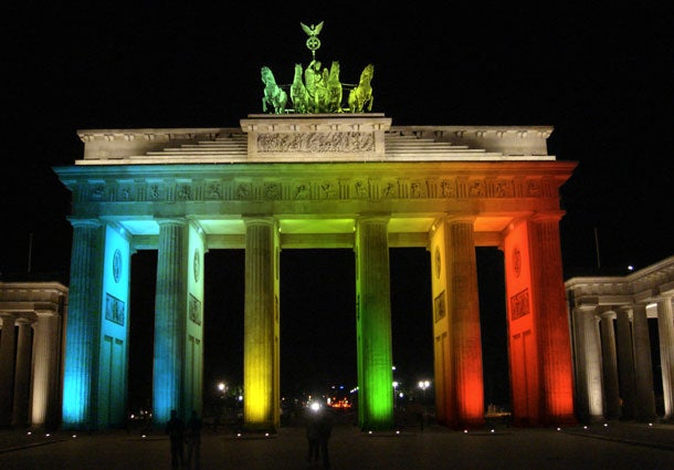 Green in Brandenburg Gate