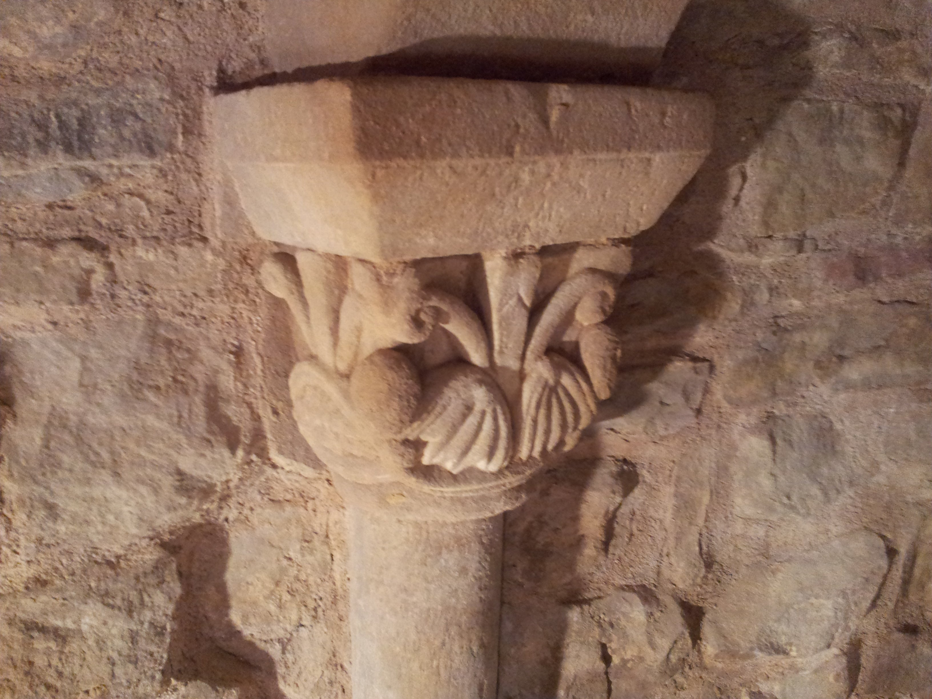 Romanesque crypt in Orinsoain