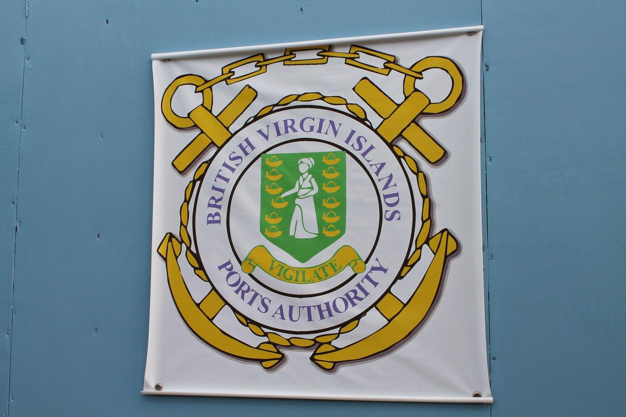 Emblema en Virgin Gorda