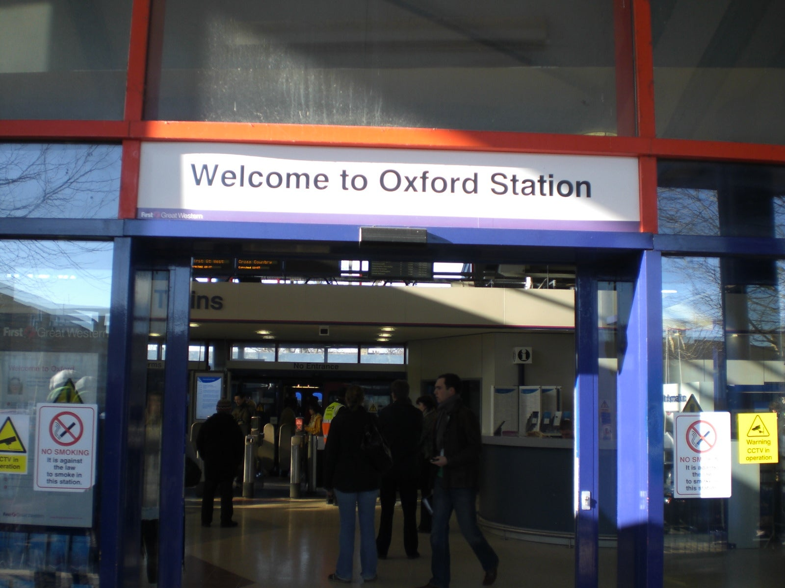 Oxford Railway Station