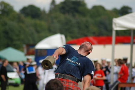 Highland Games en Bridge of Allan