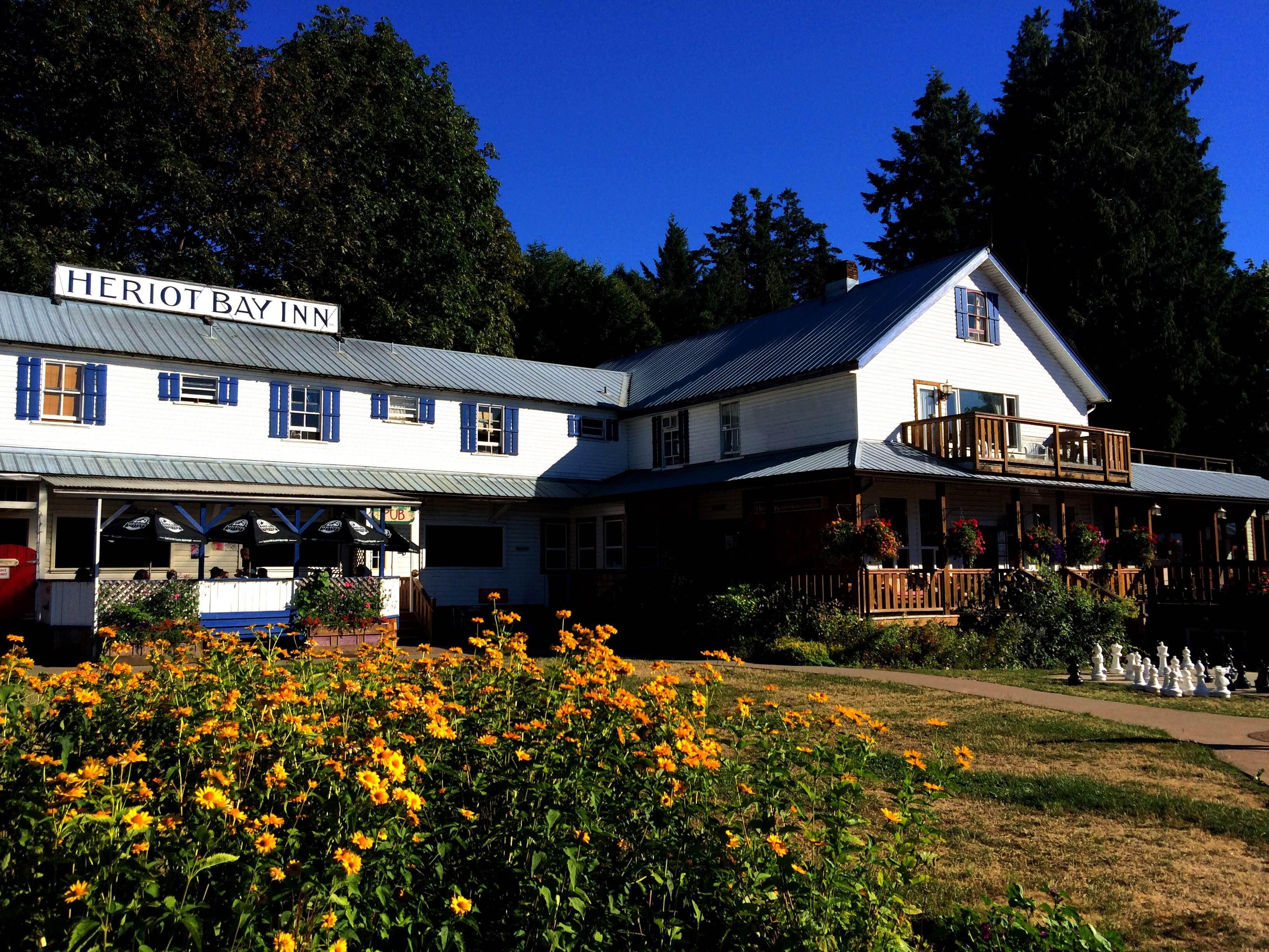 heriot bay chatrooms Quadra island inn hotel, accommodations, restaurant, pub, rv park,  campground, heriot bay marina vancouver island campground & rv park  vacations.