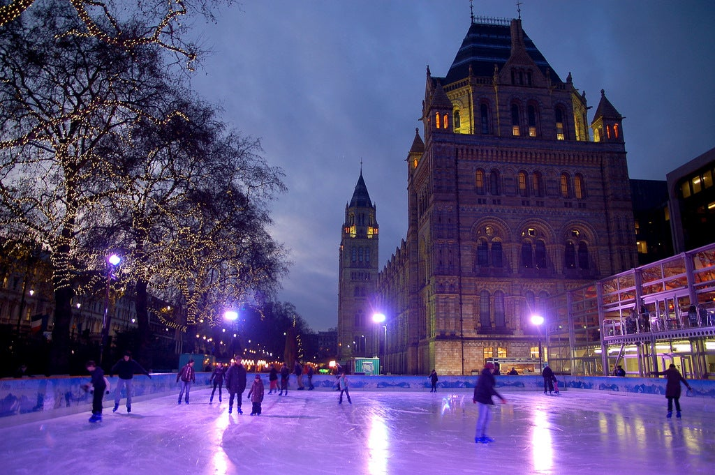 Ice Rink of the Natural History Museum