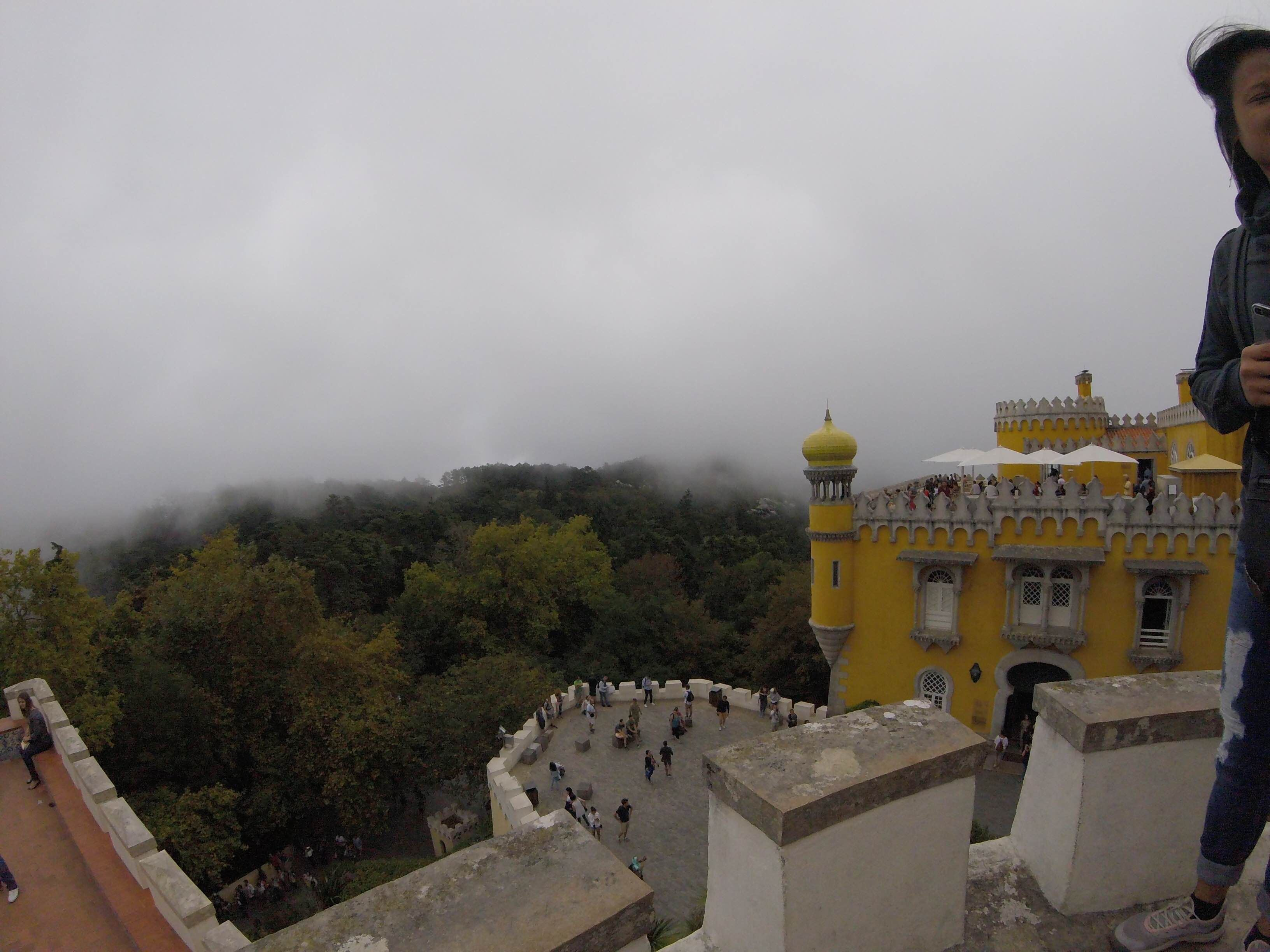 Cloud in Pena National Palace