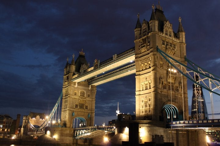 Anochecer en Tower Bridge