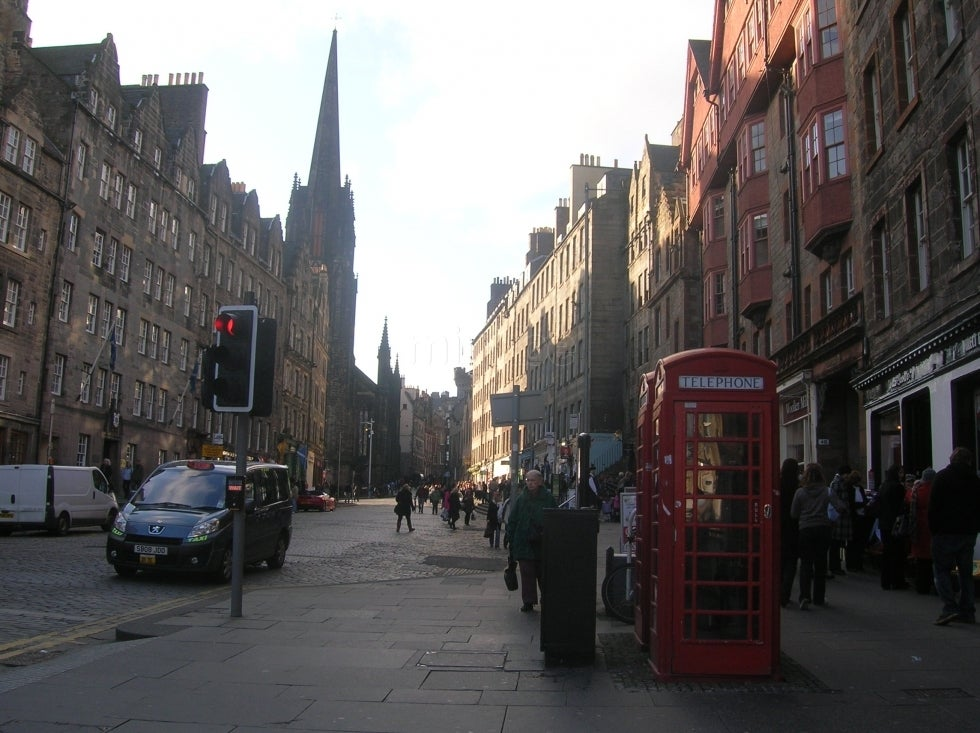 Barrio en Royal Mile