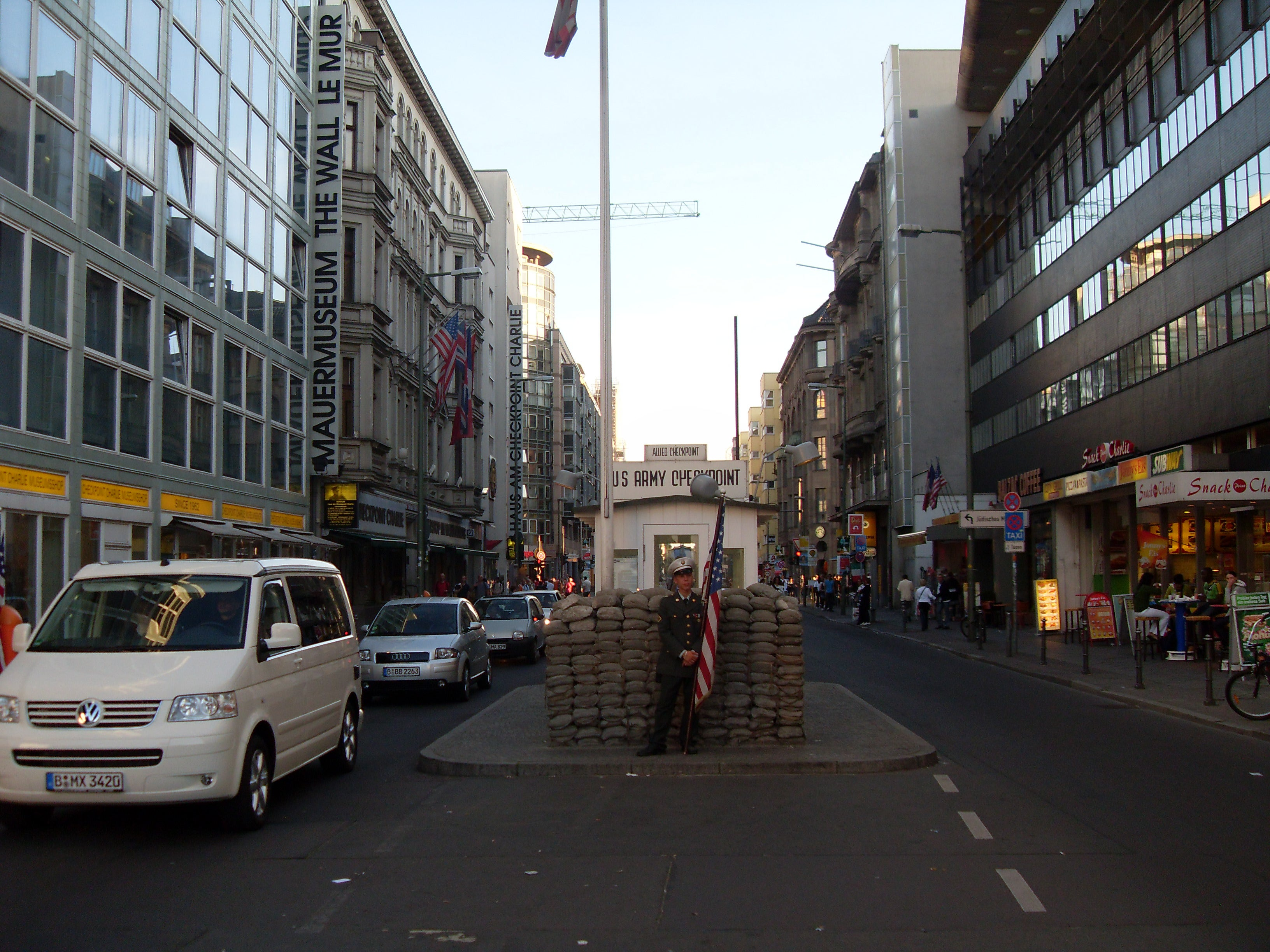 Carril en Checkpoint Charlie