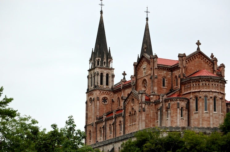 Architecture in The Lakes of Covadonga - Enol and Ercina lakes